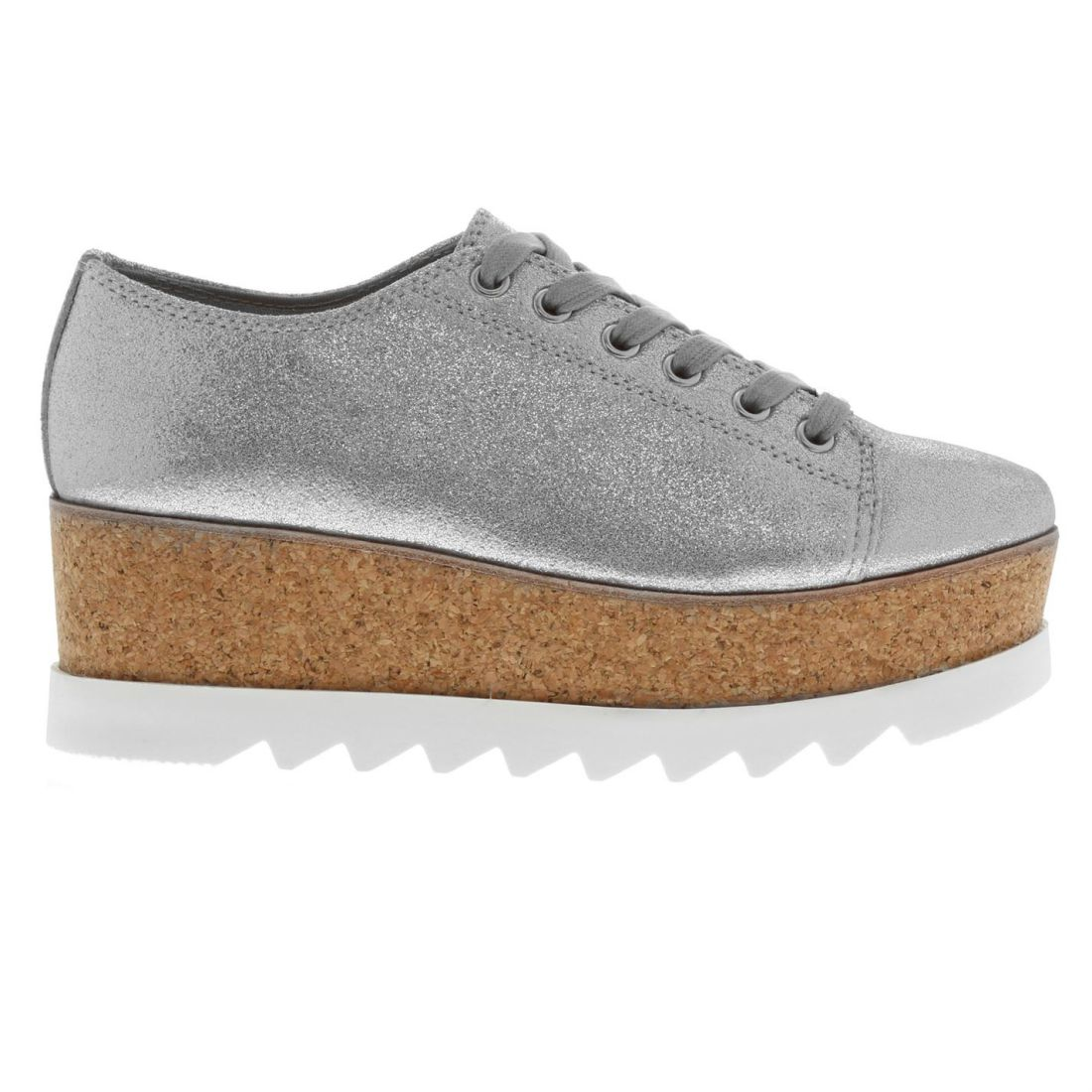 5ef186e037d Image is loading Womens-Steve-Madden-Korrie-Trainers-Wedges-Lace-Up-