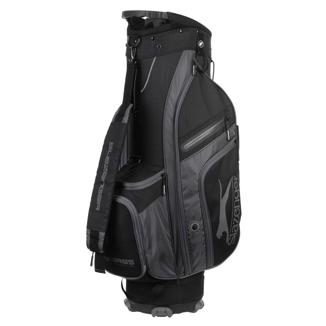 6cf7a95690 Slazenger Unisex V Series Lite Golf Cart Bag Zip 5057816252951 | eBay