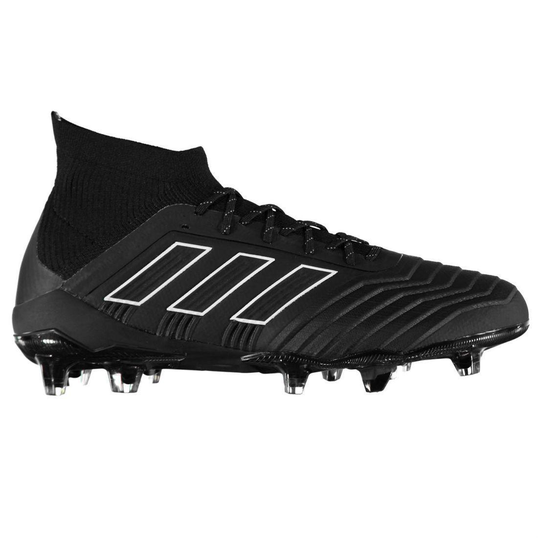 Adidas Para Hombre Projoator 18.1 FG botas De Fútbol Terreno Firme Con Cordones Imitación de punto