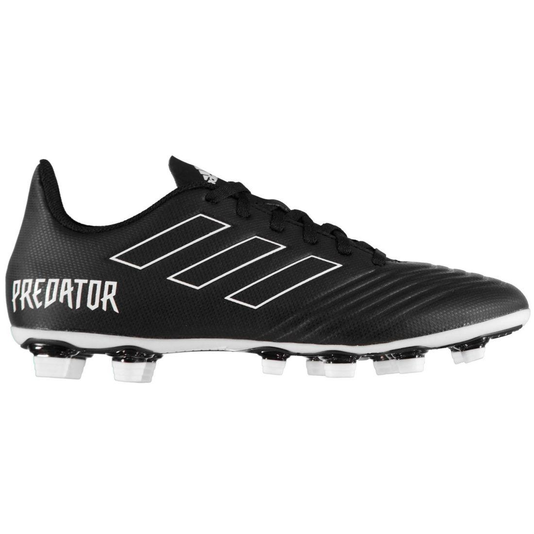 adidas Predator 18.4 FG Football Boots Mens Gents Firm Ground Laces ... cf2a0de6231