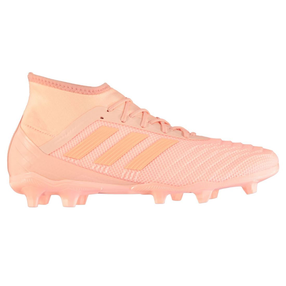 5985d5c8c9aa adidas Mens Predator 18.2 FG Football Boots Firm Ground Lace Up Studs  Stretch