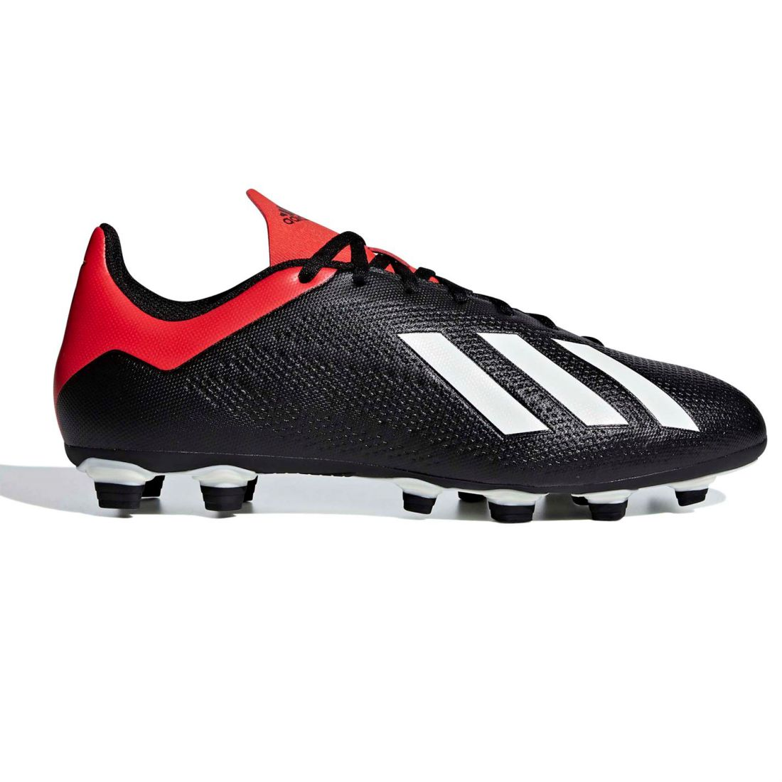 5e1a3bb66edd adidas Mens X 18.4 FG Football Boots Firm Ground Lace Up Studs