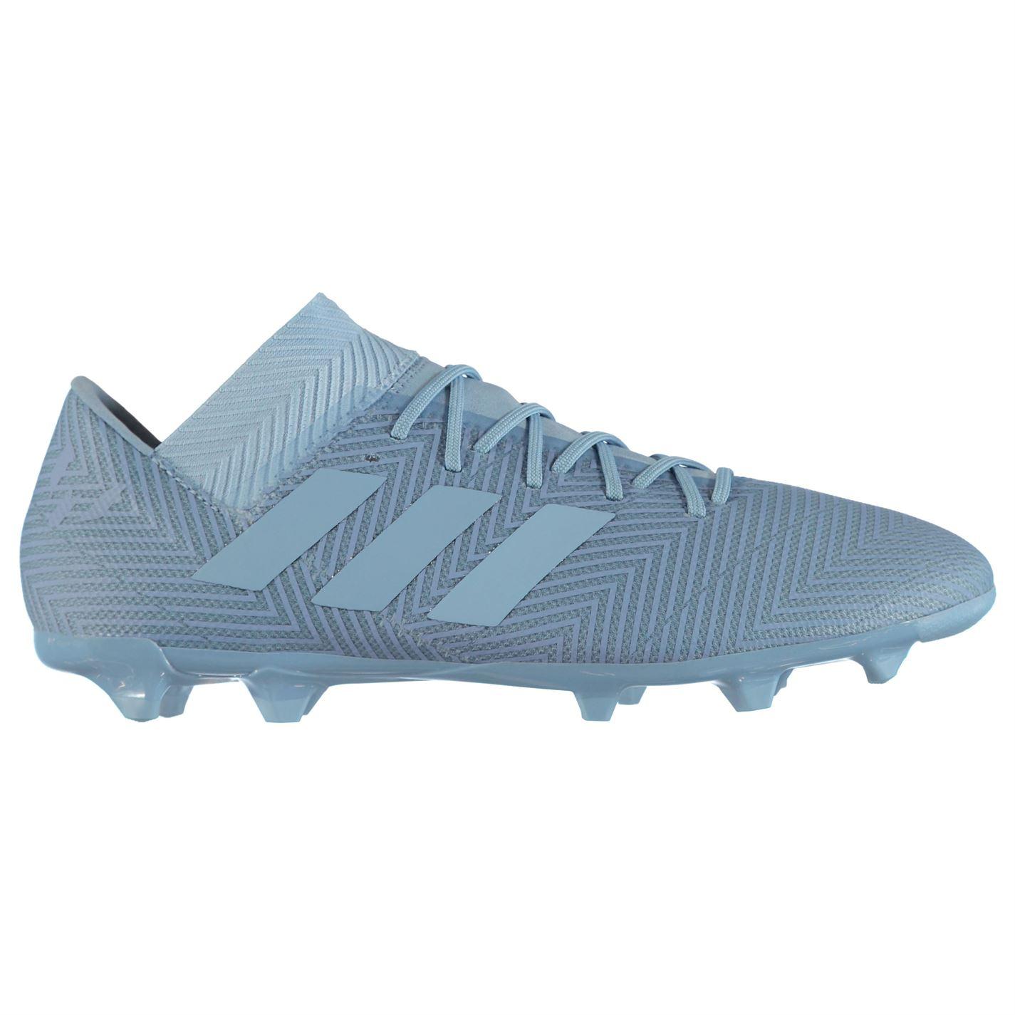 b8c80116d9c7 adidas Mens Nemeziz Messi 18.3 FG Football Boots Firm Ground Lace Up  Lightweight