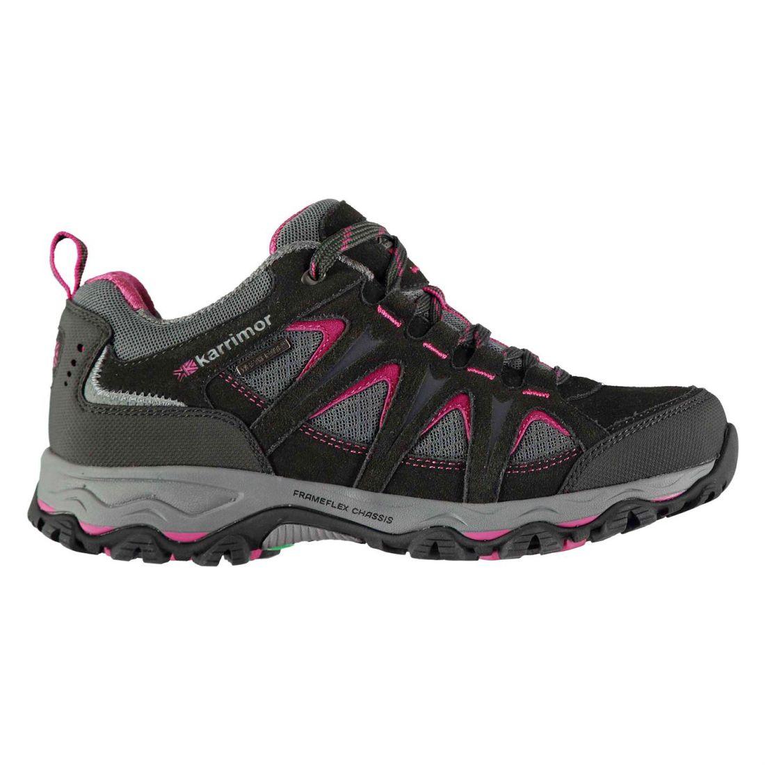 Karrimor Womens Mount Low Ladies Walking Shoes Waterproof -9303