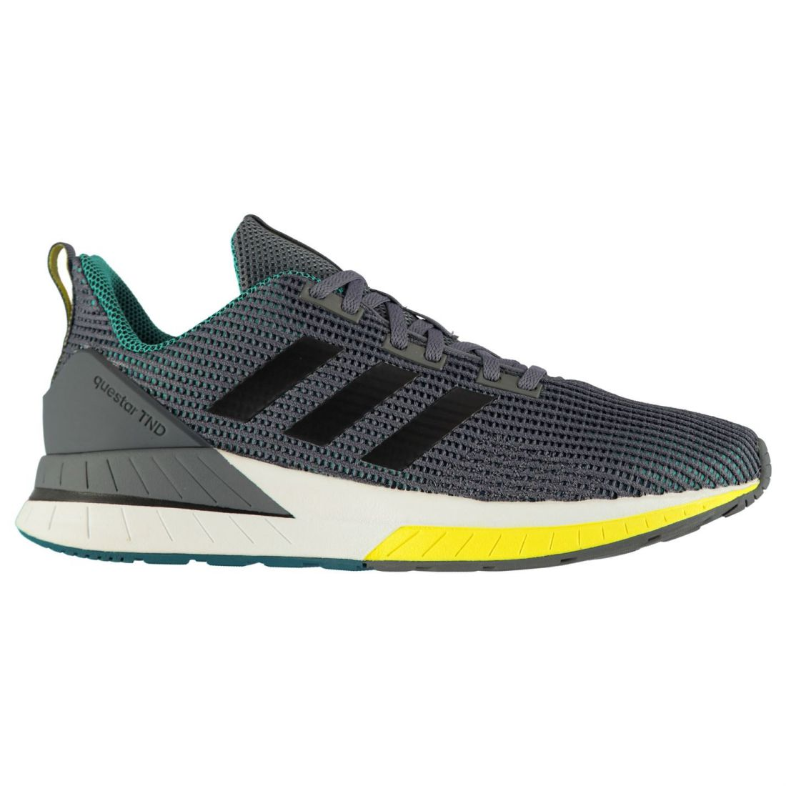 Adidas Mens Questar TND Running zapatos Road Lace Up Breathable