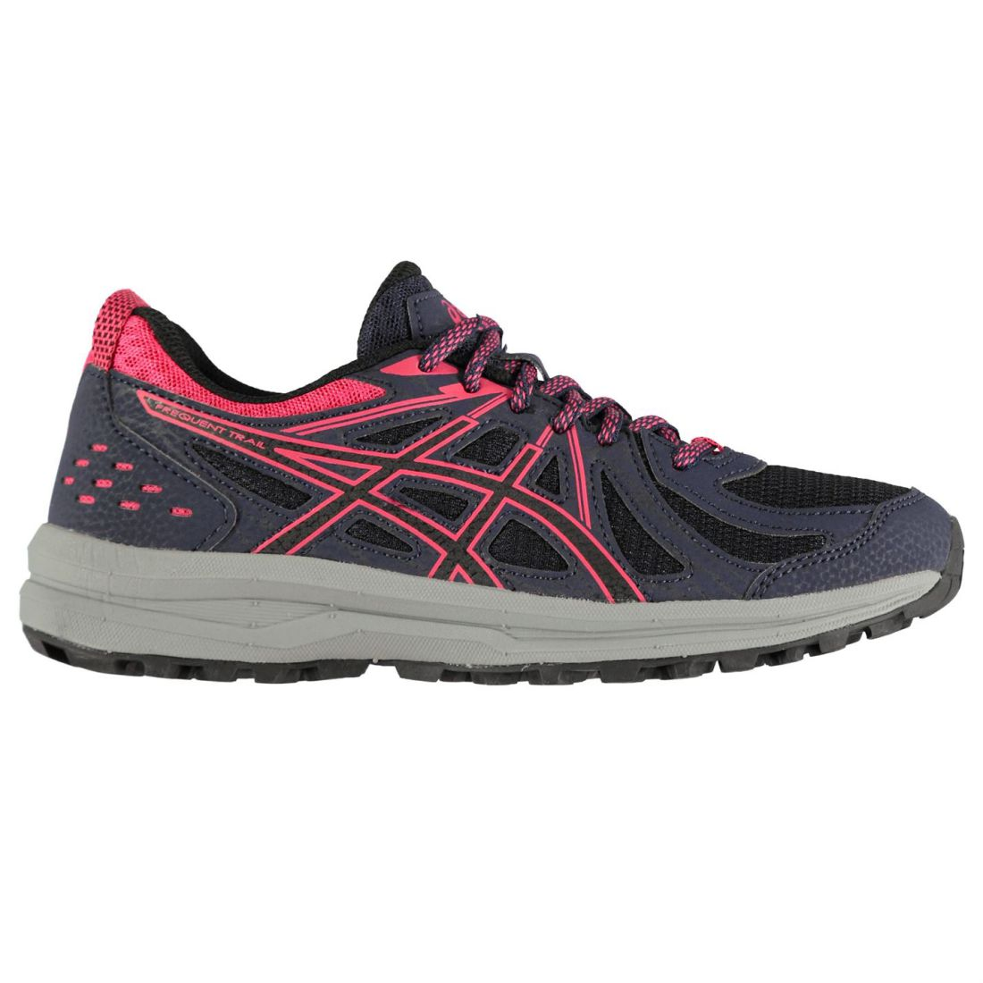 Asics Womens Frequent XT  Trail Running shoes Lace Up Breathable Padded Ankle  best-selling