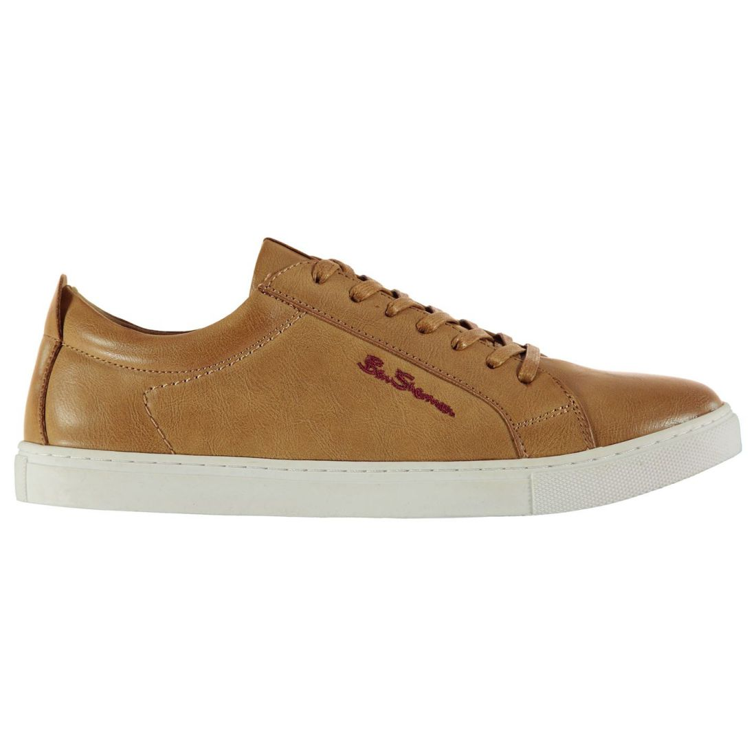 Ben-Sherman-Mens-Trophy-Fashion-Trainers-Low-Top-Lace-Up-Casual-Shoes-Leather thumbnail 3