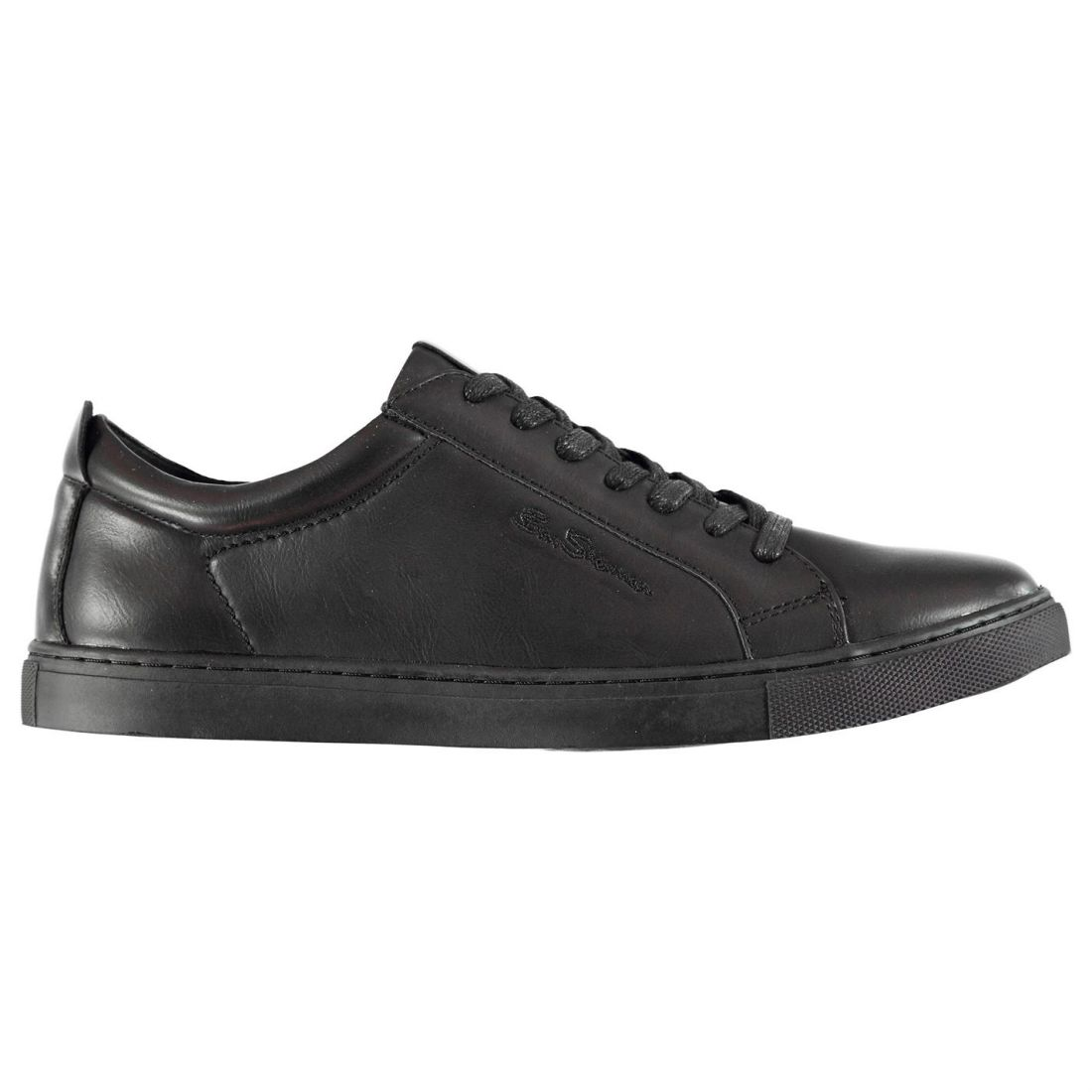 Ben-Sherman-Mens-Trophy-Fashion-Trainers-Low-Top-Lace-Up-Casual-Shoes-Leather thumbnail 5