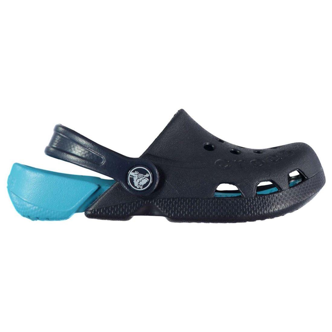 f3986db7d42c0 Crocs Baby Electro Clogs Shoes Unisex Kids Mules Slippers Sandals ...
