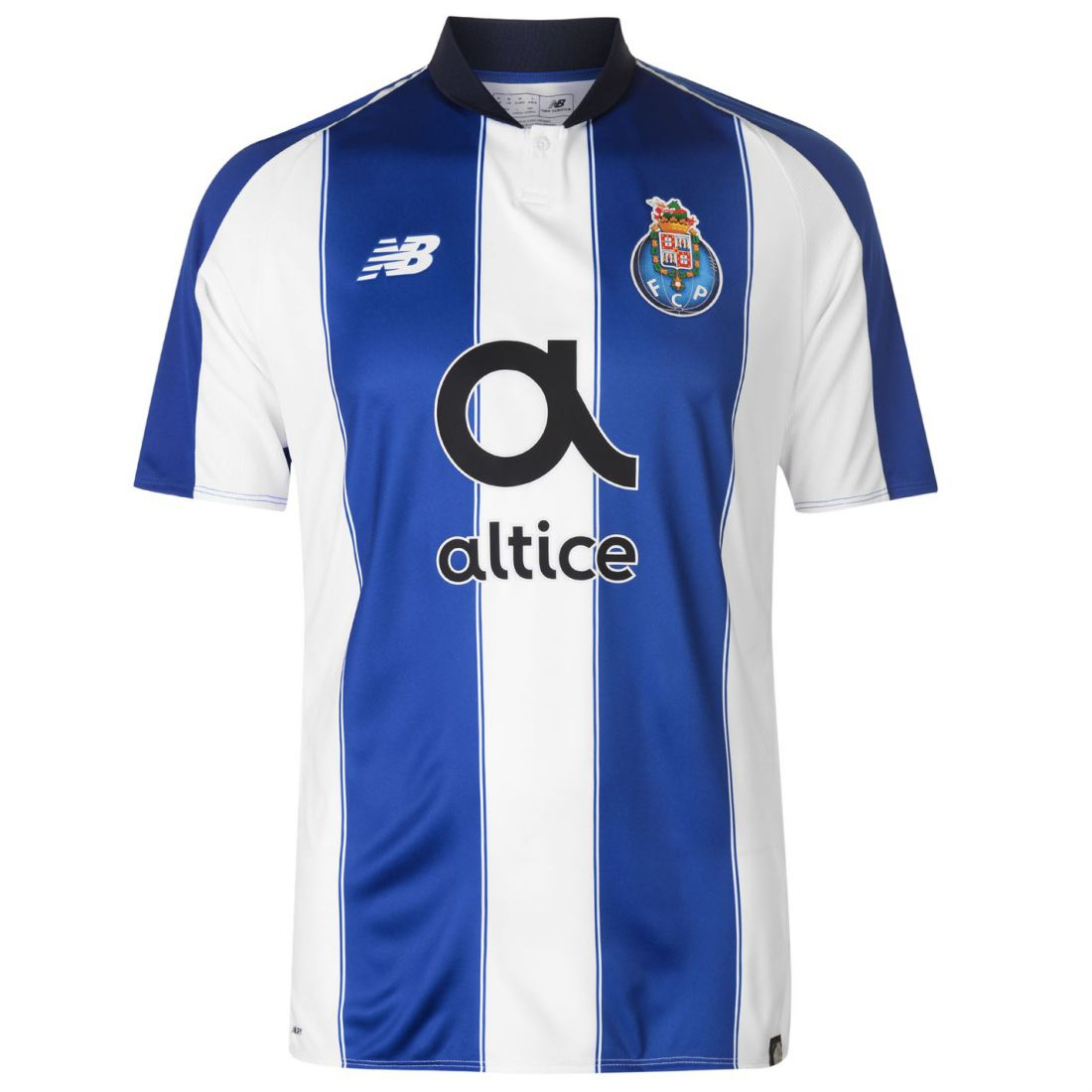 New Balance Mens Porto Home Shirt 2018 2019 Domestic Short Sleeve ... 49d6b6ba71f83