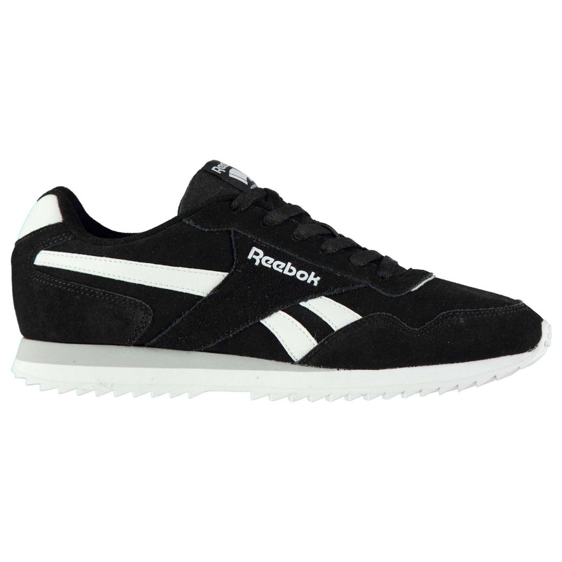 c1b9ad86e Reebok Men Gents Royal Glide Ripple Suede Trainers Shoes Footwear Laces  Fastened 6 6 di 6 Vedi Altro