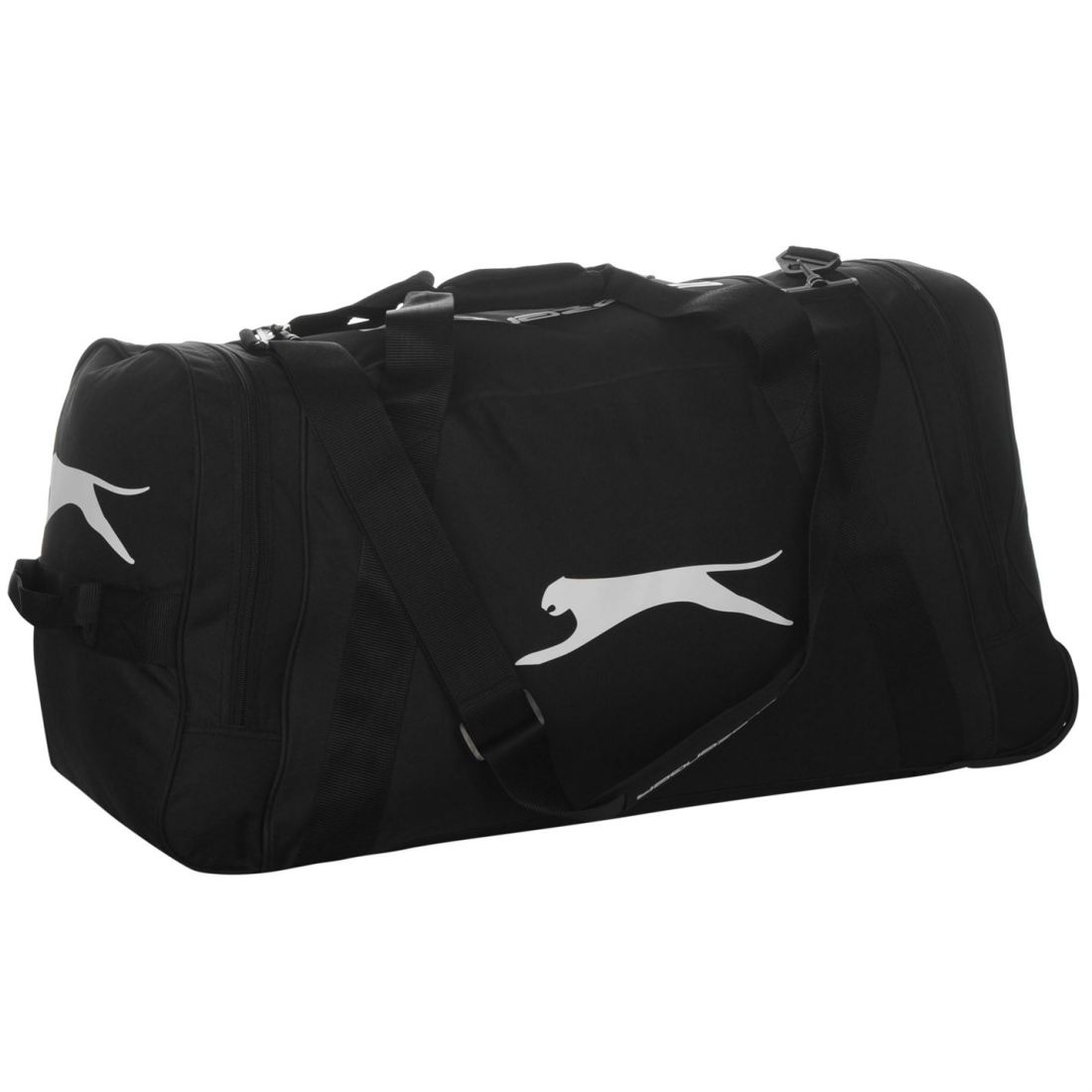1d196ac90653 Image is loading Slazenger-Wheel-Reinforced-Holdall -Travel-Storage-Luggage-Accessories