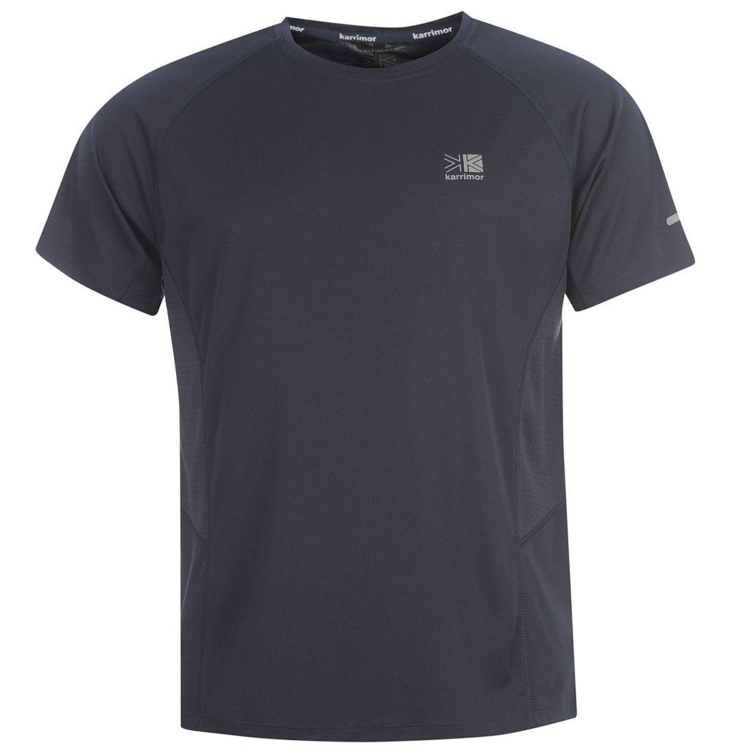 Karrimor Mens Short Sleeve Run T Shirt Breathable Running Jogging Sport Top