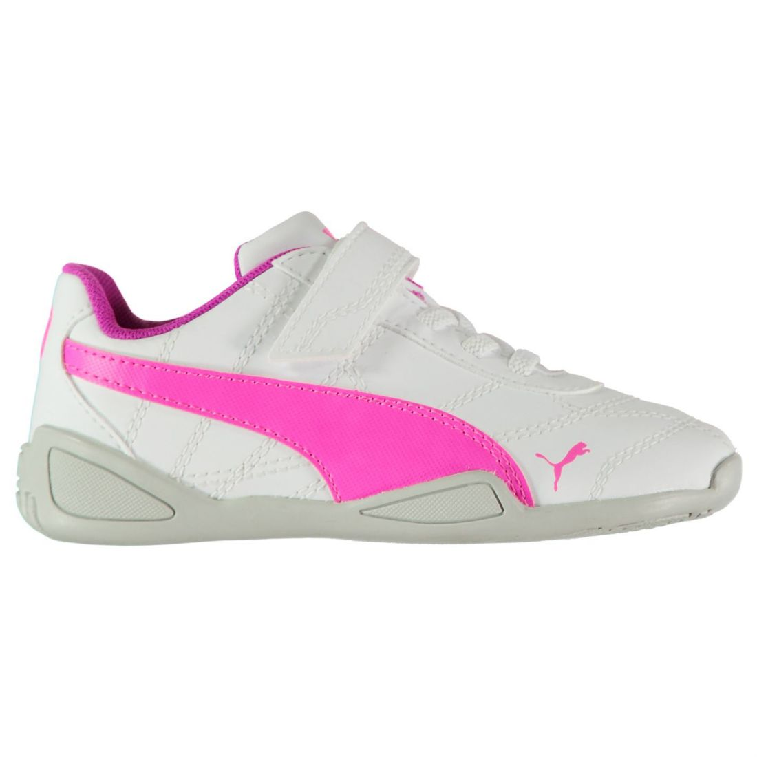 Details about Puma Kids Tune Cat 3 Trainers Infant Girls Shoes Contrasting  Touch and Close eb0db6a89391e