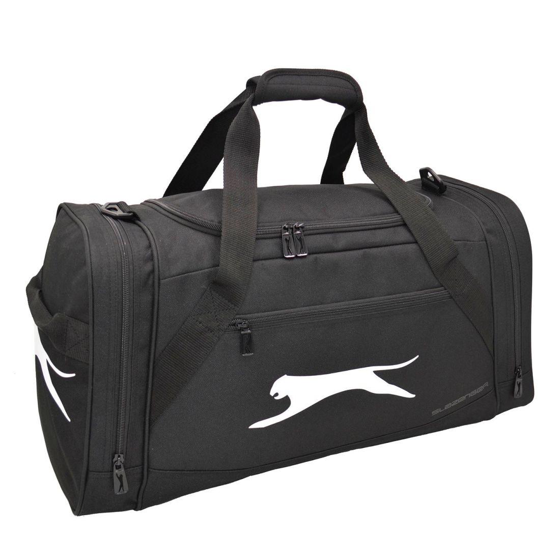 c0f36bd8f9 Slazenger Medium Holdall Zip Pockets Baggage Traveling Sack Accessory