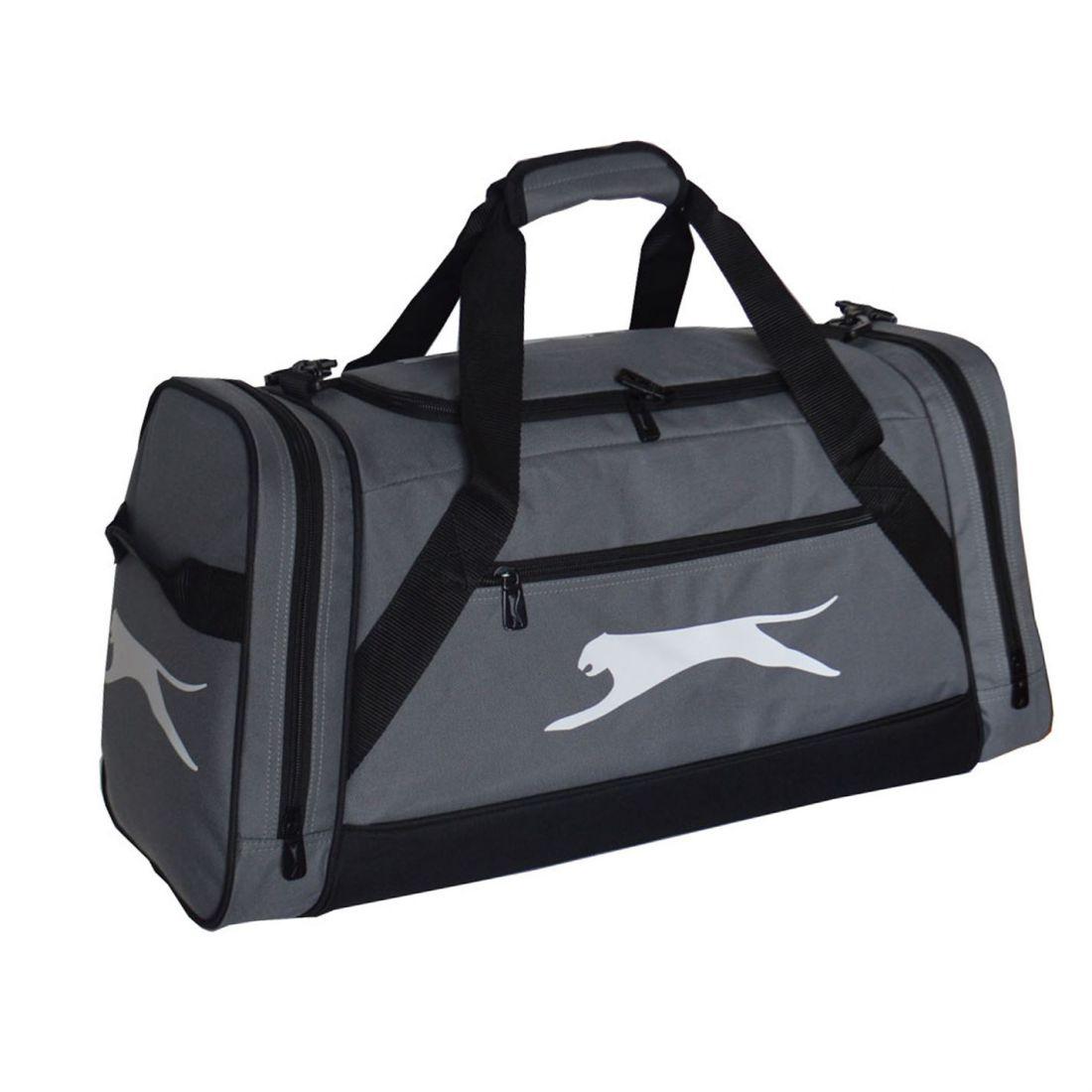a0402ec02e Slazenger Medium Holdall Zip Pockets Baggage Traveling Sack Accessory 5 5  di 6 ...