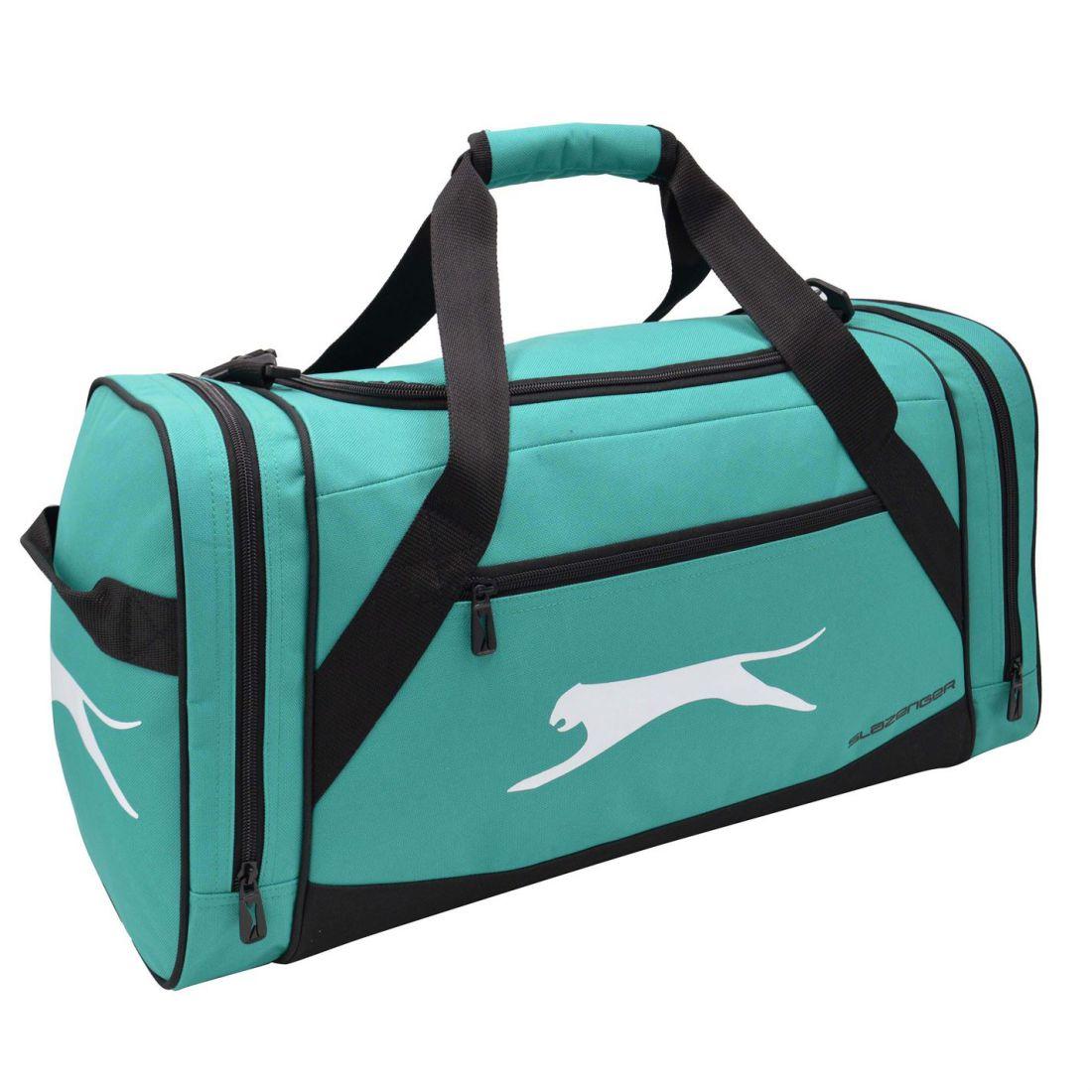 6debbb2a58 Slazenger Medium Holdall Zip Pockets Baggage Traveling Sack Accessory 6 6  di 6 Vedi Altro