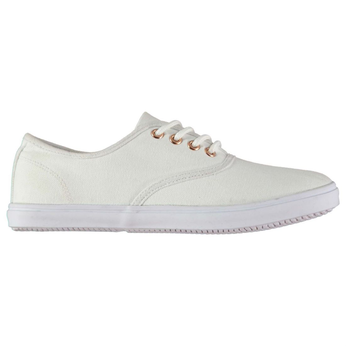 0fa9109f76 Image is loading Miso-Womens-Taylor-Plimsolls-Shoes-Trainers-Sneakers-Canvas -