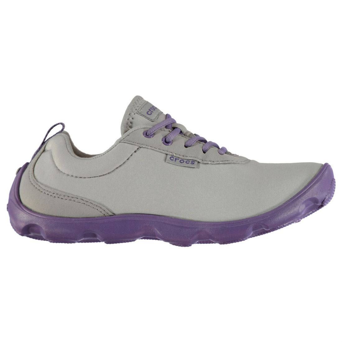 b3a8c2d88cecda Crocs Womens Duet Busy Day Lace Up Trainers Sports Shoes Breathable Padded  Ankle