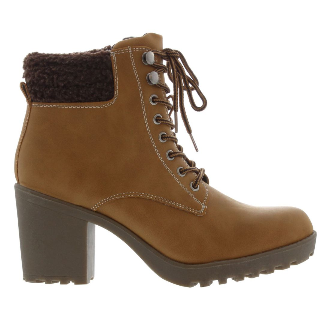2d8ba852689 SoulCal Womens Luis Boots Heeled Ankle