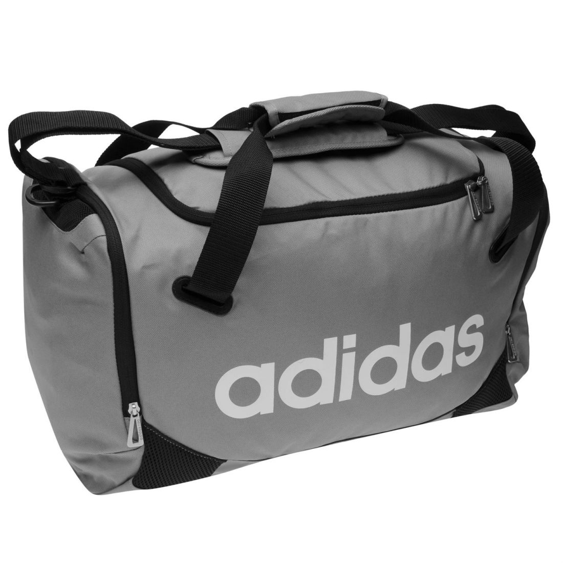 7386b25b42fe adidas Lined Small Team Bag Holdall Carrier Sports Training Sack Accessories