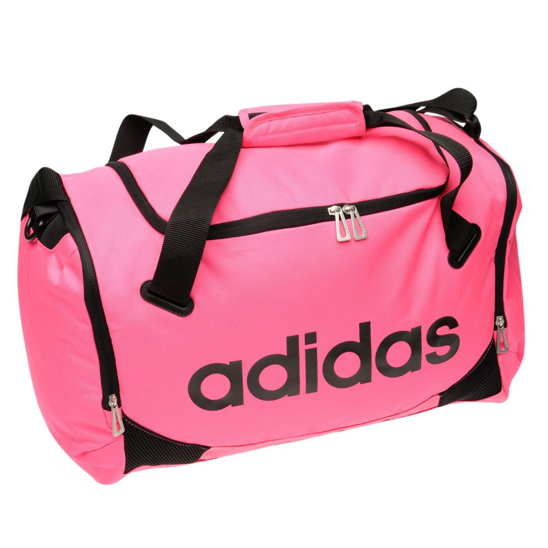 bd87df933e30 adidas Lined Small Team Bag Holdall Carrier Sports Training Sack Accessories