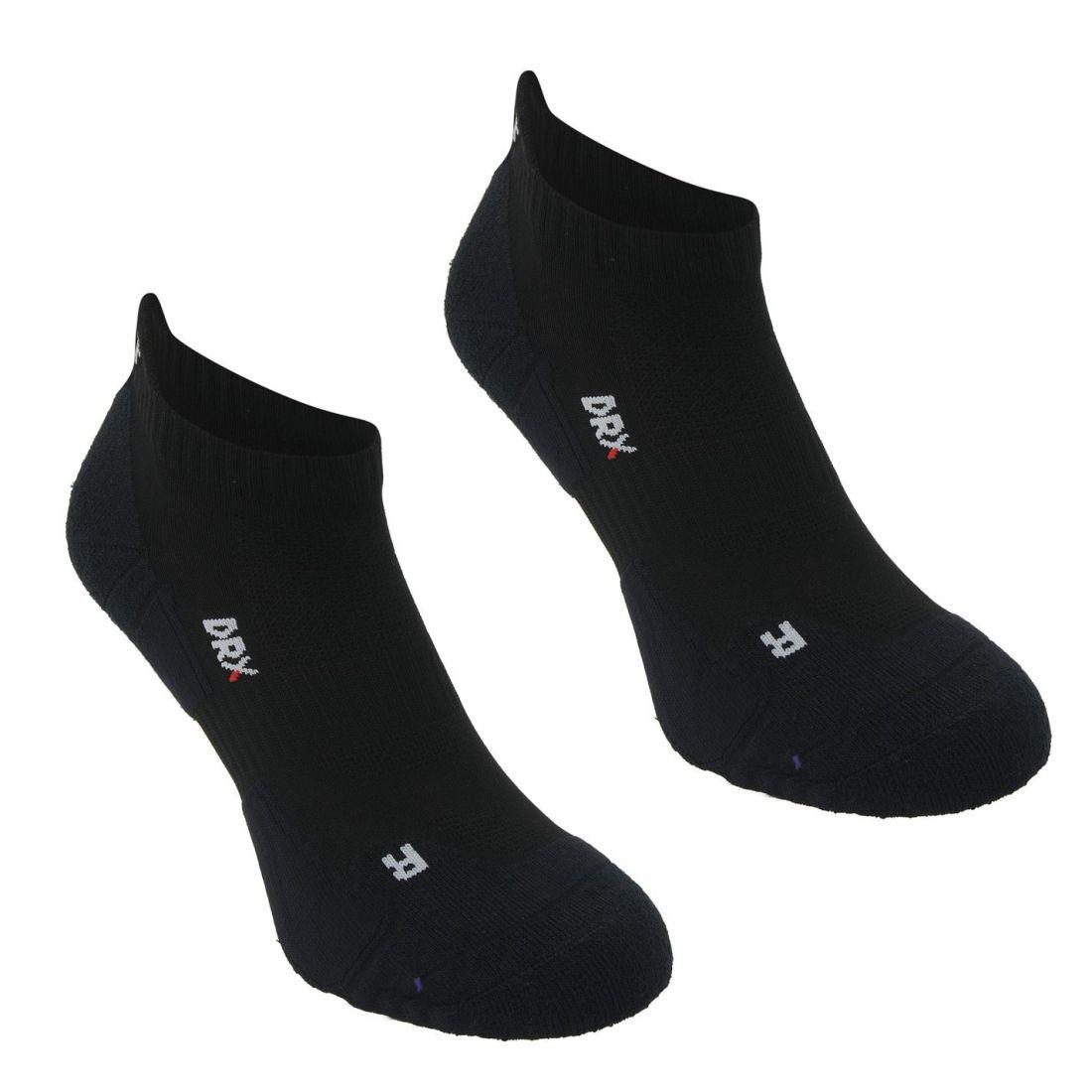 Finden Sie den niedrigsten Preis heiß-verkauf echt Wert für Geld Details about Karrimor 2 Pack Running Socks Trainer Mens