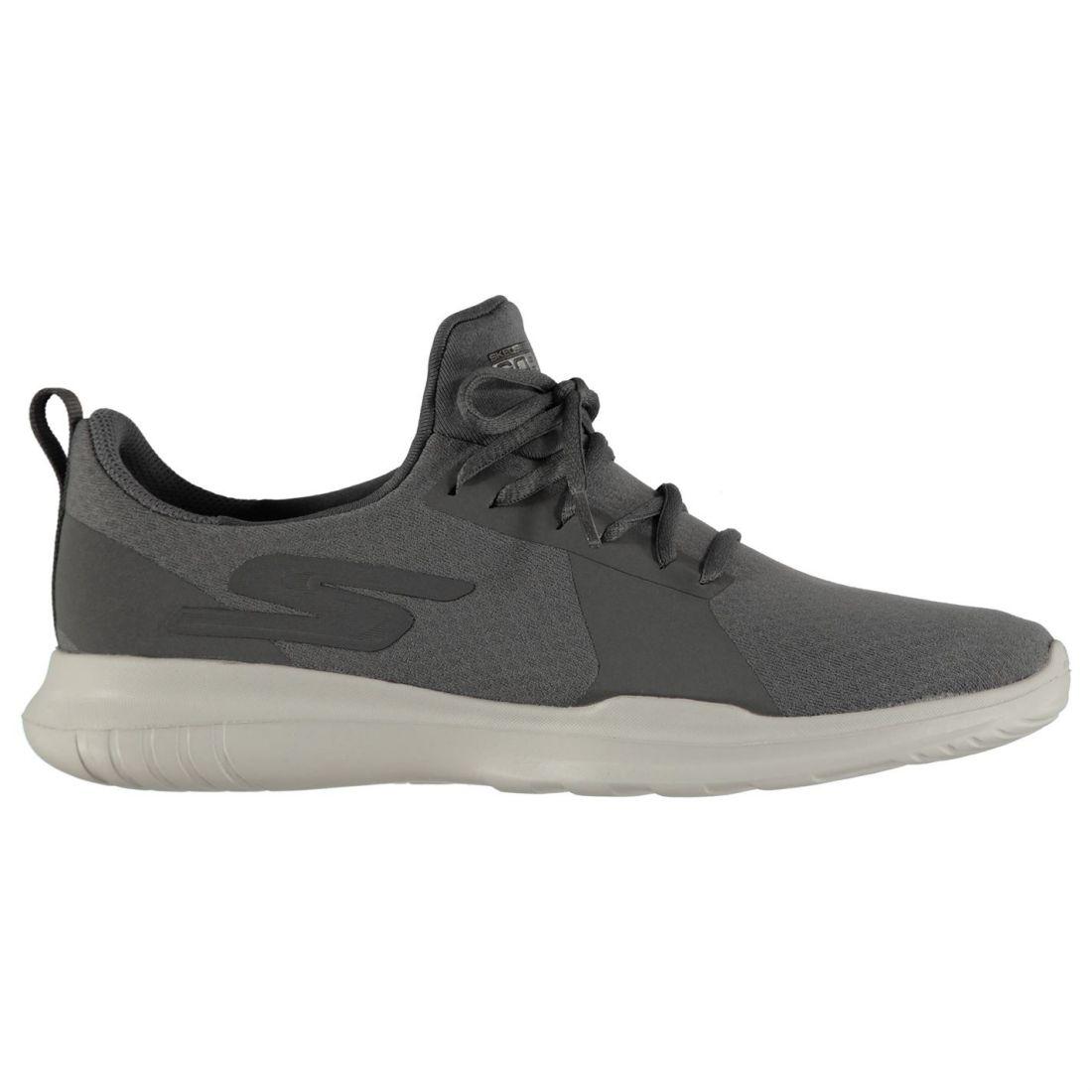 Sneakers Laces Ladies Run Go Ventilated Mojo Charcoal Shoes Fastened Skechers Everyday tqfPwwp