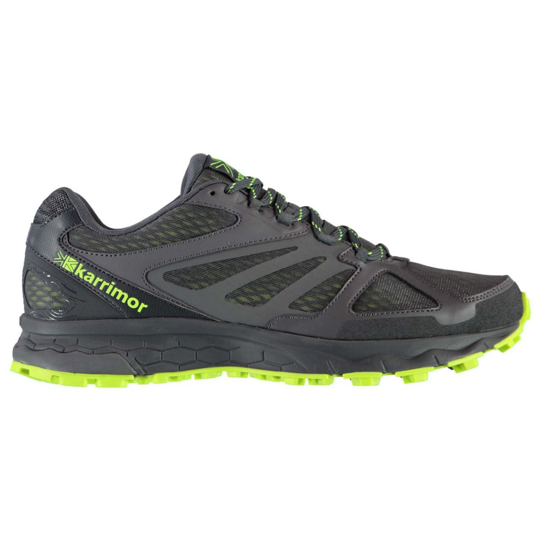 4fc8cd9231cf93 Details about Karrimor Mens Tempo 5 Trail Running Shoes Trainers  Lightweight Mesh Upper