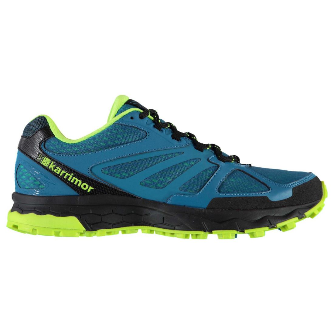 1a145ac16a2 Karrimor Mens Tempo 5 Trail Running Shoes Trainers Lightweight Mesh Upper
