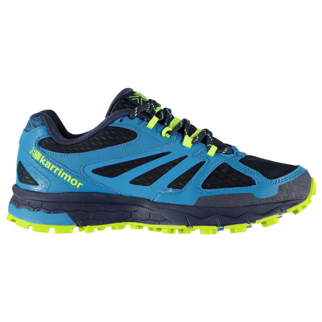 Details about Karrimor Mens Tempo 5 Trail Running Shoes Lace Up Lightweight  Mesh Upper 6e0602fdbf