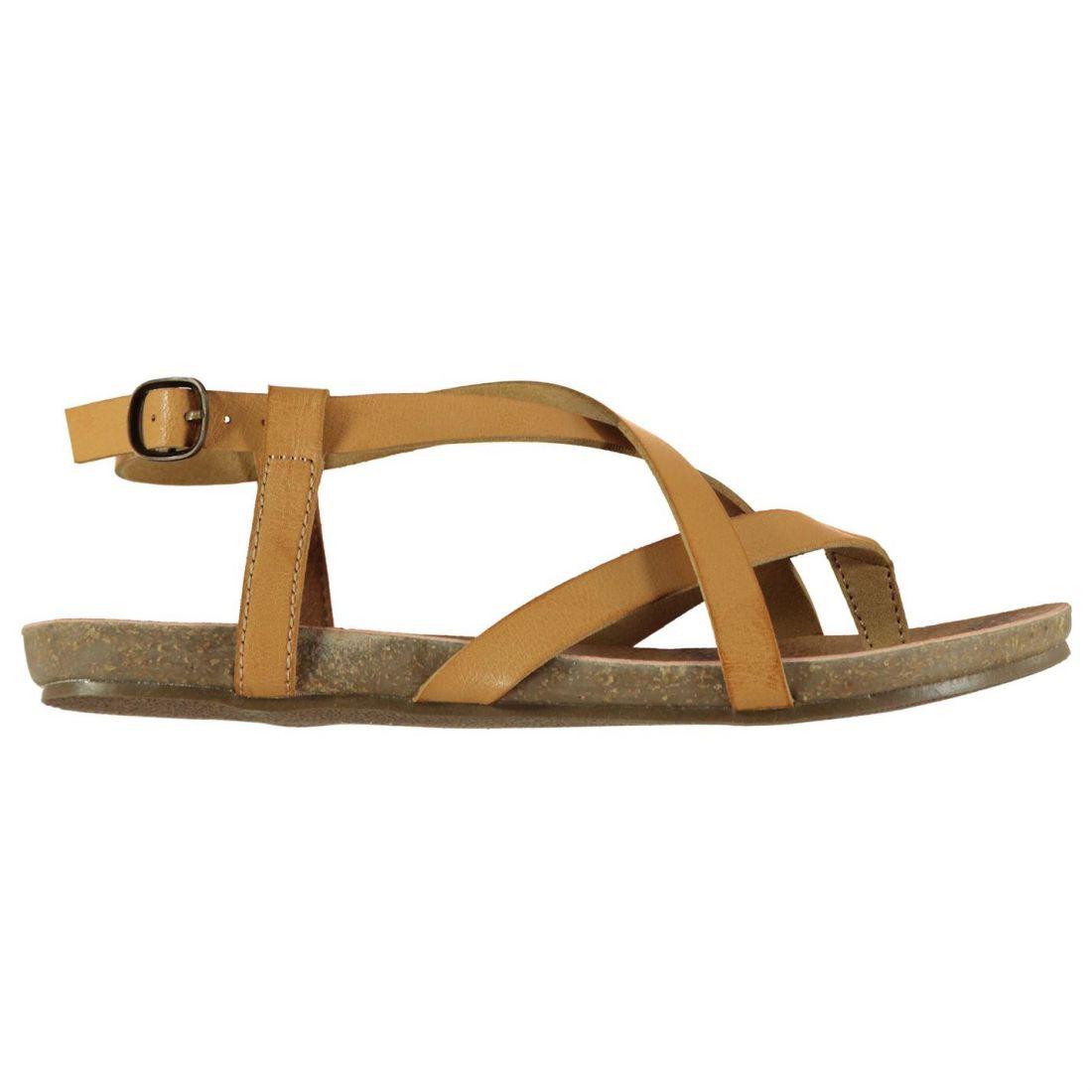 6fcbb6170 Blowfish Womens Golden Sandals Flat Buckle Fastening Strap