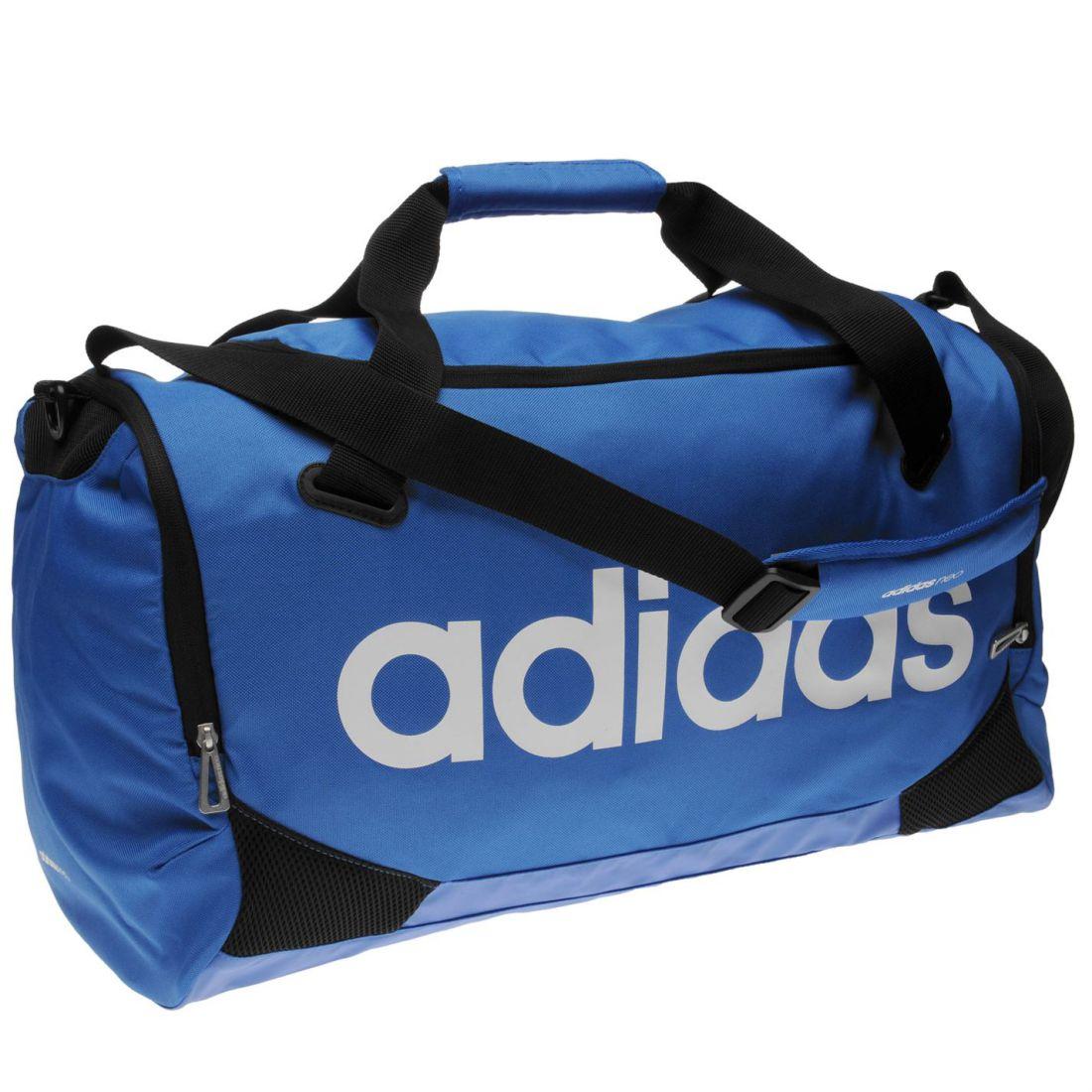 adidas Lin Team Bag Medium Holdall Travel Storage Luggage Accessories 98f4bbf39c
