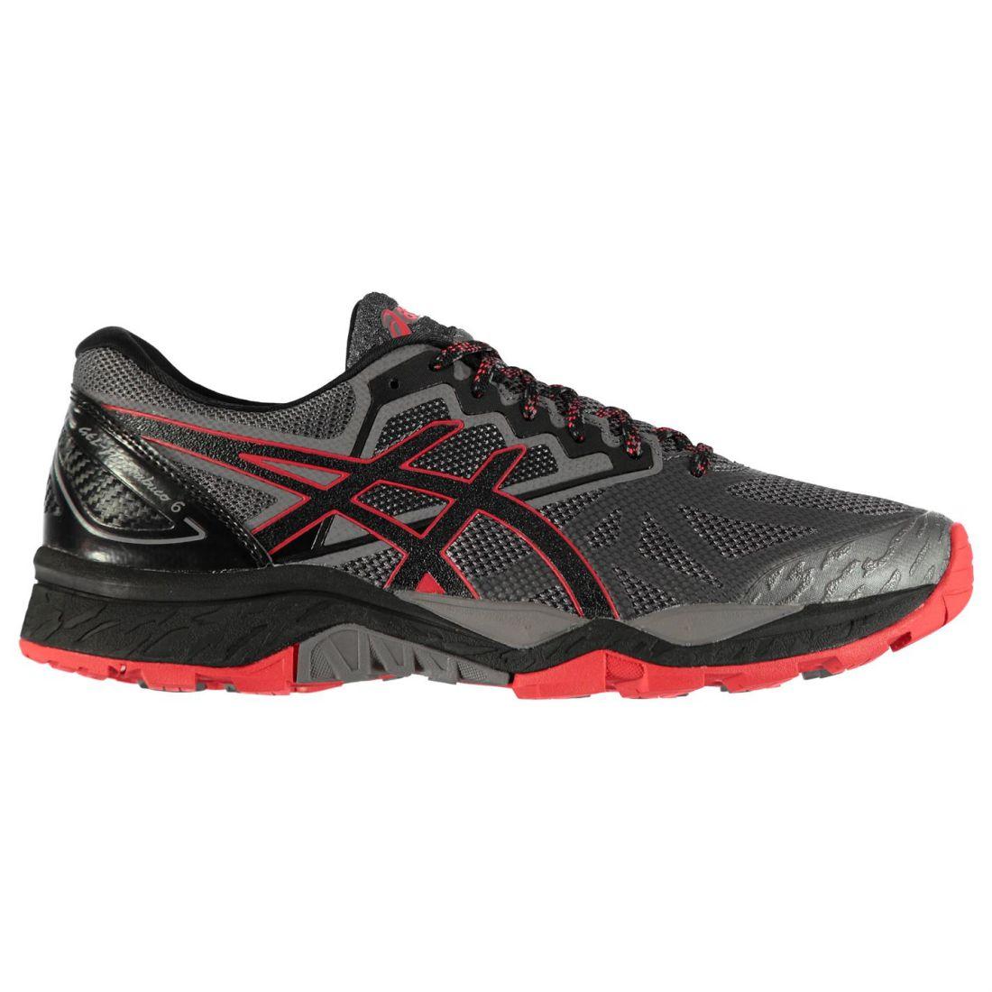 Asics Mens Fujitrabuco 6 Trail Running shoes Lightweight Studs