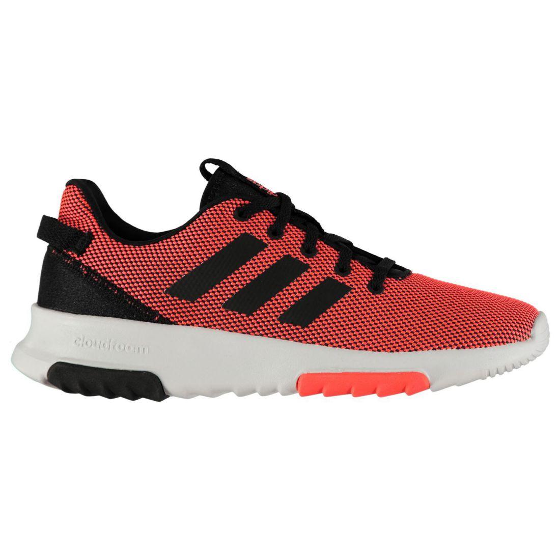 7b708442a9d adidas Kids Boys Cloudfoam Racer TR Shoes Junior Runners Lace Up Stripe  Seamless