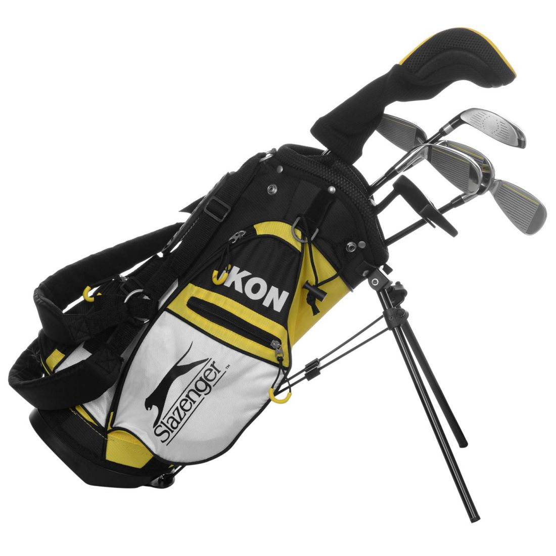 08b5c7d46b Details about Slazenger Kids Ikon Golf Set Junior Graphite
