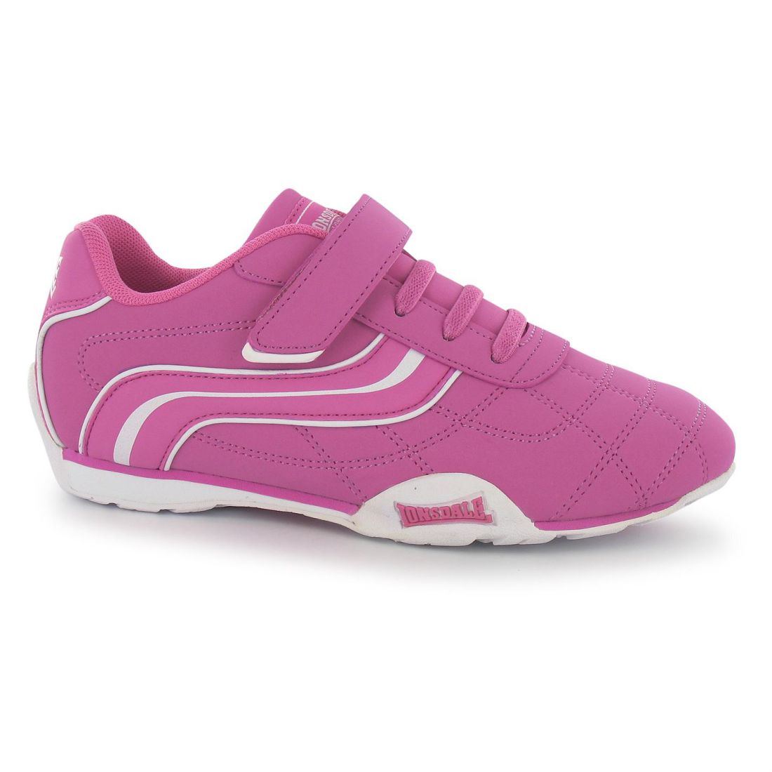 7ed8810bd4cd Image is loading Lonsdale-Childrens-Camden-Child-Boys-Sneakers-Trainers -Casual-