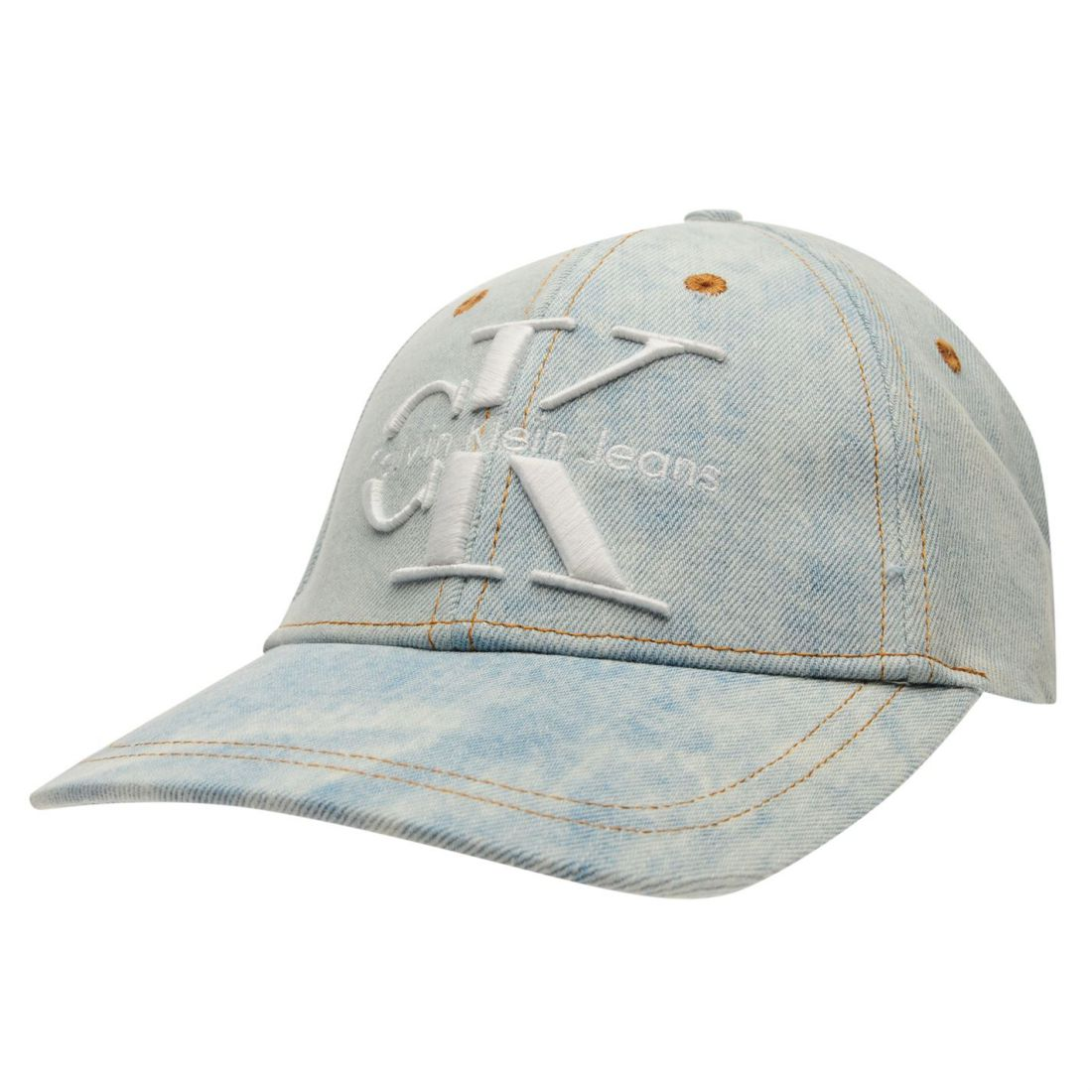 Image is loading Womens-Calvin-Klein-Re-Issue-Denim-Cap-Baseball- e5a4b44adc