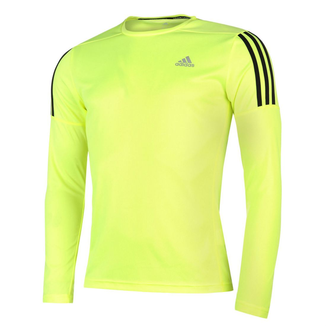 773914c689c787 adidas Mens Questar Long Sleeve Running Top Crew Neck Sports Clothing