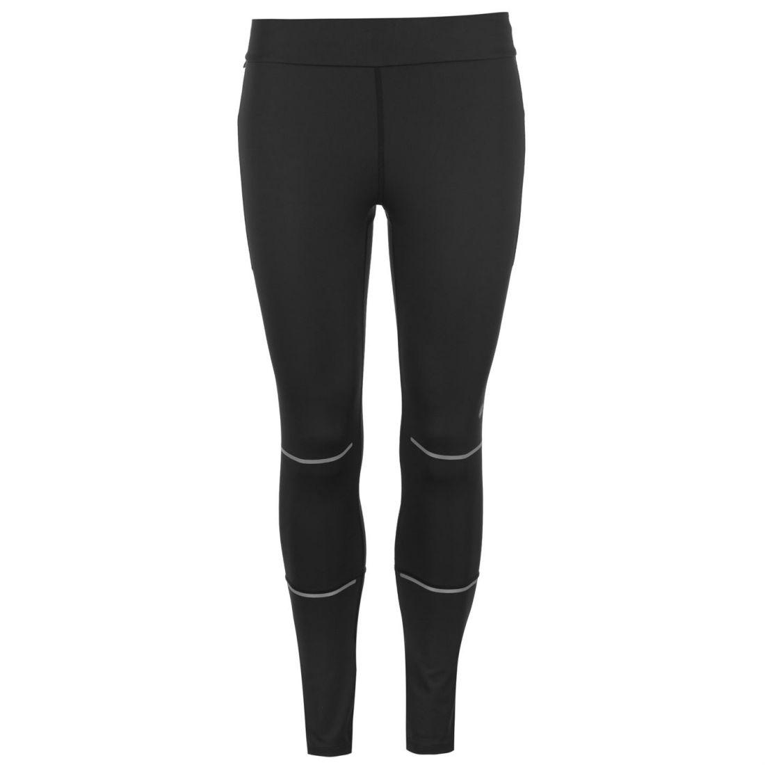 Details about Asics Lite Show 7 8 Tights Ladies Performance Pants Trousers Bottoms Zip Quick