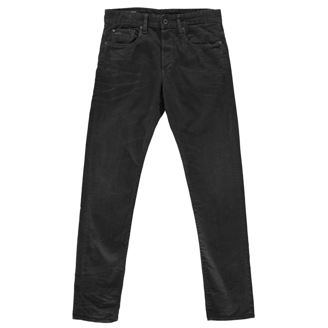 c10f8d1a G Star Mens 3301 Tapered Coj Jeans Straight Pants Trousers Bottoms Cotton  Tonal