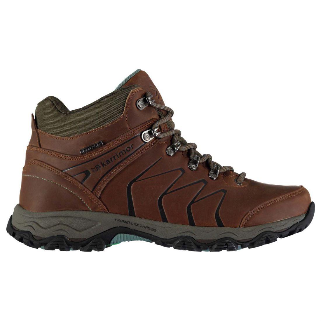 b5b68ed07b2 Karrimor Womens Dales Mid Waterproof Walking Boots Breathable ...