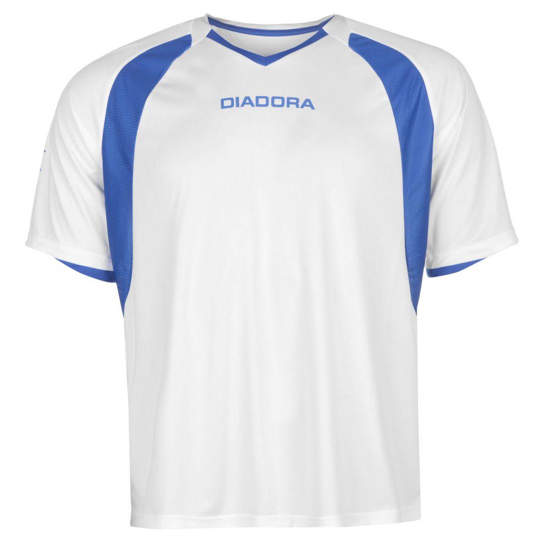 ca66d11498de95 Diadora Mens Brasilia T Shirt Baselayer Top Tee Compression Armor ...