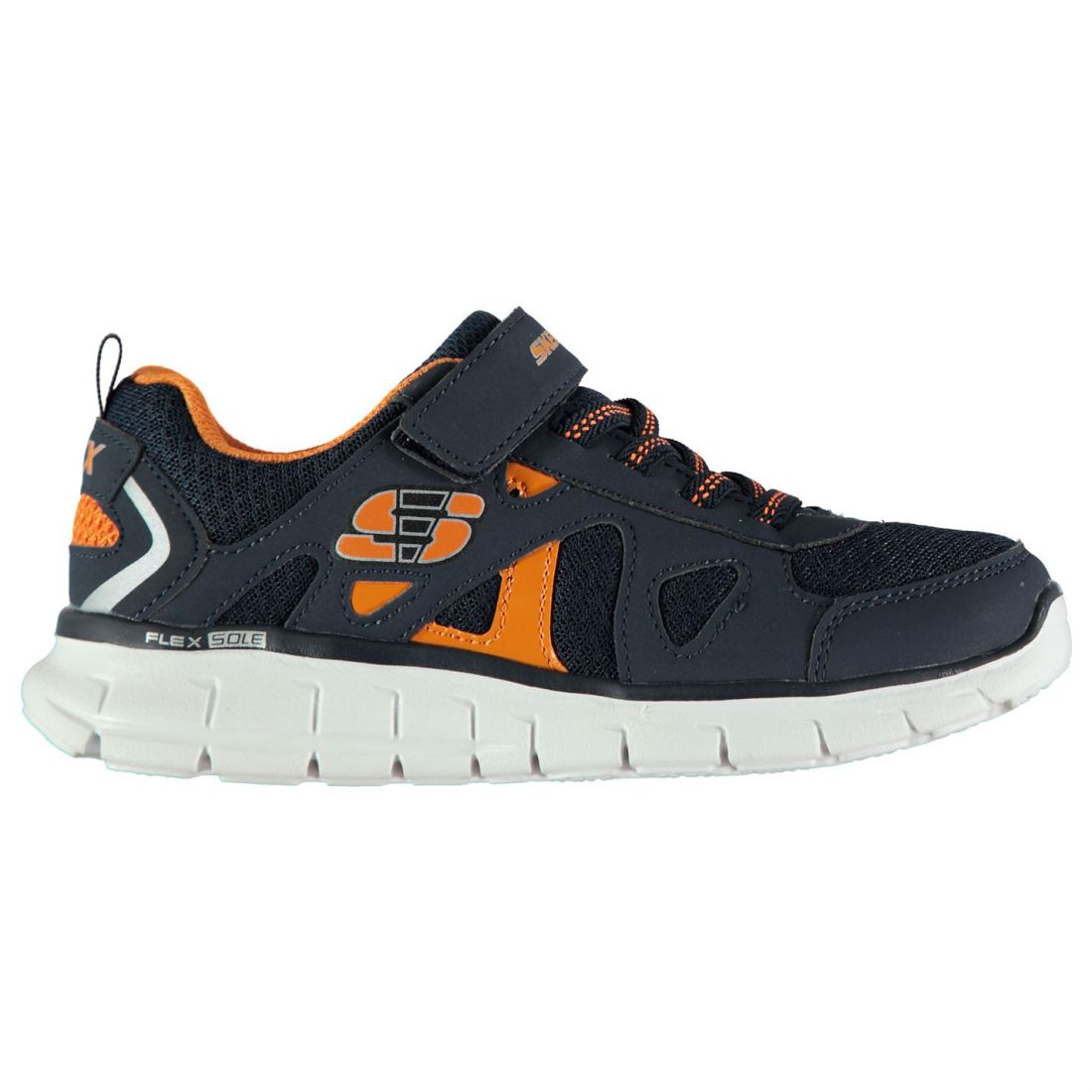 9589eeac536b Skechers Kids Boys Vim Speed Trainers Child Runners Elasticated Laces  Breathable