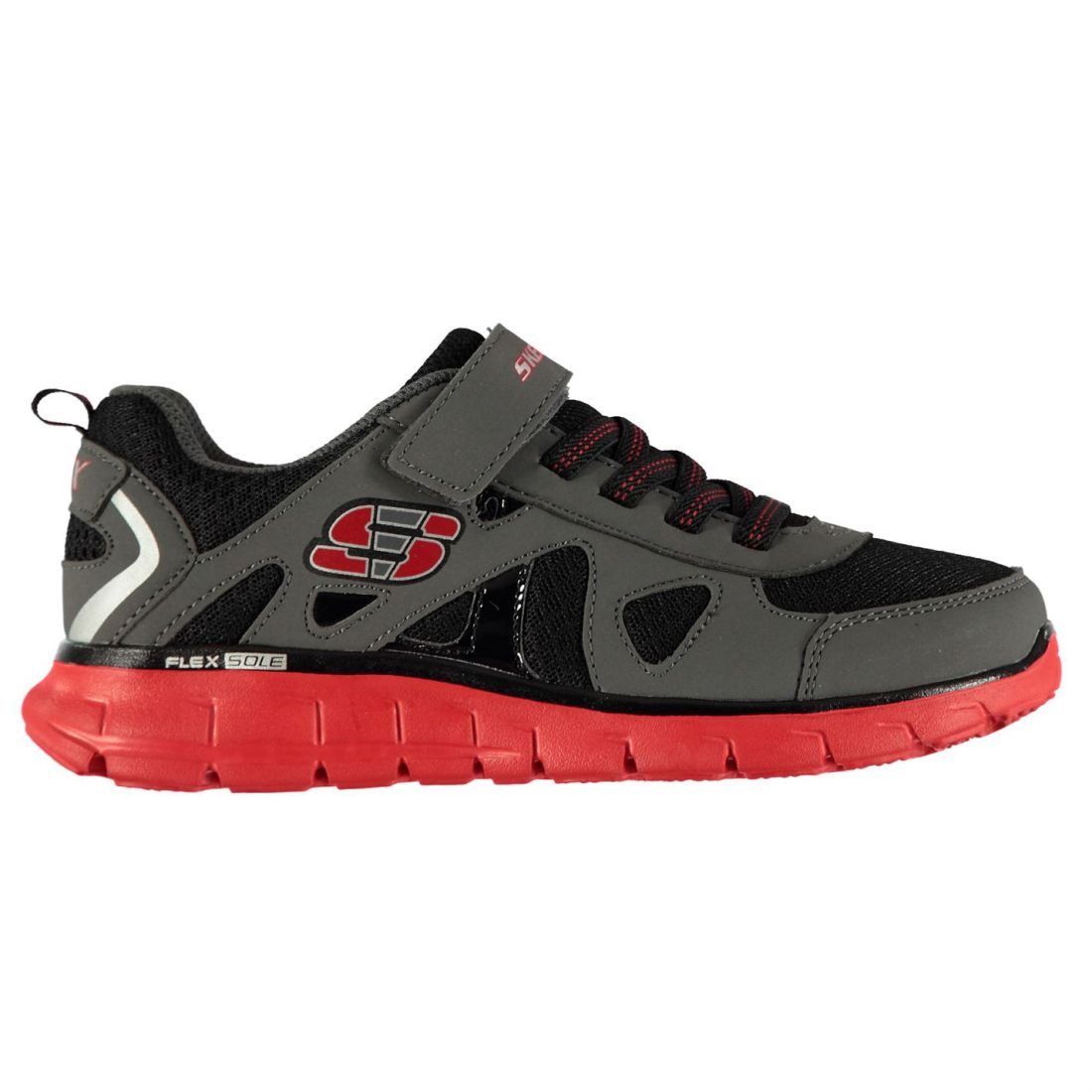 d78f3415f Details about Skechers Kids Boys Vim Speed Trainers Child Runners  Elasticated Laces Breathable