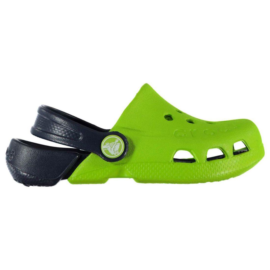 dc24c73fc938 Crocs Baby Electro Clogs Shoes Mules Slippers Sandals Slip On Colour ...