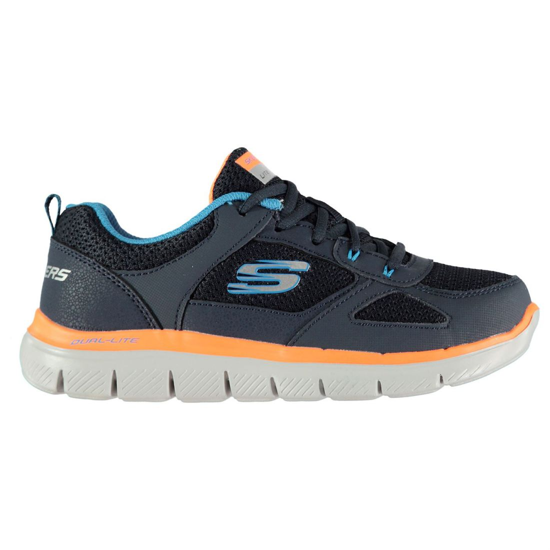 3f5ca326cc84 Skechers Kids Boys Flex Advantage 2.0 Trainers Junior Runners ...