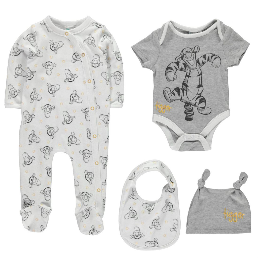 a4fe5402bda3 Disney 4 Piece Romper Set Babies Childrens Rompers Sleep Suit Short ...