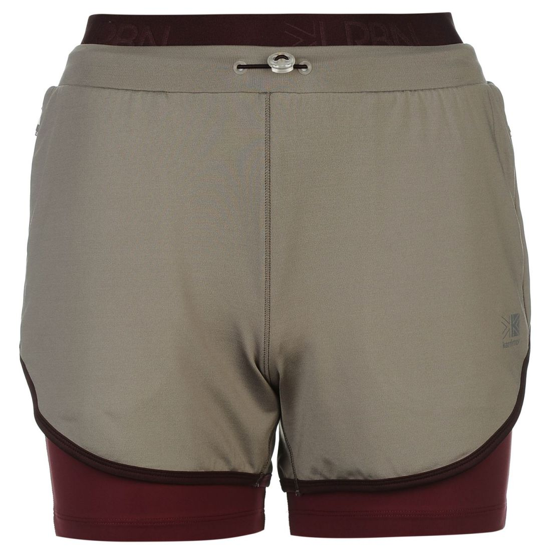 Image is loading Karrimor-Womens-Urban-2in1-Running-Shorts-Sports-Pants- a5a6b3b35d