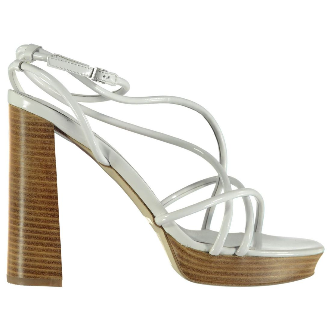 e2914bbf41b Jeffrey Campbell Womens Regaliz Heeled Sandals Buckle Ankle ...
